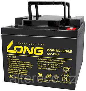 Тяговый аккумулятор LONG WP45-12NE (12В, 45Ач), фото 2