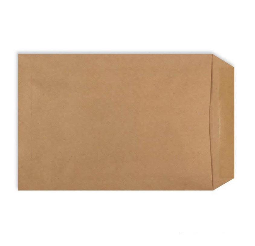 Конверт С4 (229х324 мм) пакет, коричневый
