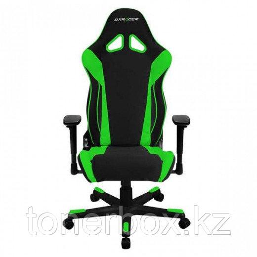 Игровое компьютерное кресло DX Racer OH/RW106/NE (Черный-Зеленый)