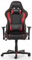 Игровое компьютерное кресло DX Racer OH/FH08/NR (Черный-красный), фото 1