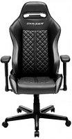 Игровое компьютерное кресло DXRacer OH/DH73/NG (Чёрный-Серый), фото 1