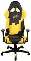 Игровое компьютерное кресло, DXRacer OH/RE21/NY NAVI (Черно-желтый), фото 1