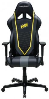 Игровое компьютерное кресло, DXRacer OH/RZ60/NGY NAVI (Черно-Серый)
