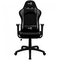 Игровое компьютерное кресло Aerocool AC100 AIR B черный, фото 1