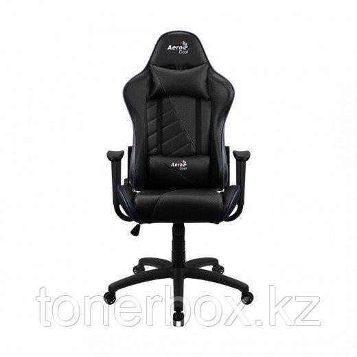 Игровое компьютерное кресло Aerocool AC110 AIR BB черный-синий