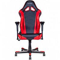 Игровое компьютерное кресло DXRacer OH/RE0/NR черный-красный, фото 1