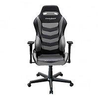 Игровое компьютерное кресло DXRacer OH/DM166/NG черный-серый, фото 1