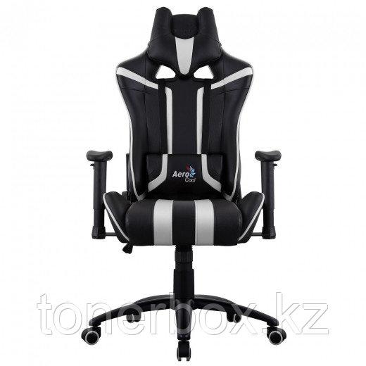 Игровое компьютерное кресло Aerocool AC 120 AIR-BW черный-белый