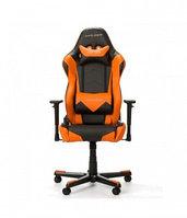 Игровое компьютерное кресло DX Racer OH/RE0/NO, черный-оранжевый, фото 1