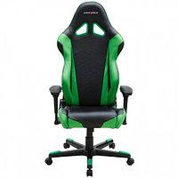 Игровое компьютерное кресло DX Racer OH/RE0/NE, черно-зеленое, фото 1