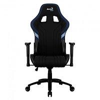 Игровое компьютерное кресло Aerocool AERO 1 Alpha, чёрно-синий, фото 1