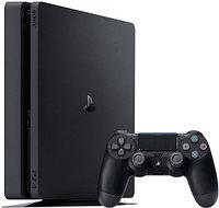 Игровая консоль Sony Play Station 4 Slim 1TB, Black (Detroit: Become Human, The Last of Us Remastered,