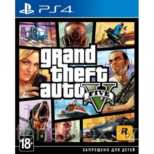 Игра Grand Theft Auto V (PS4)