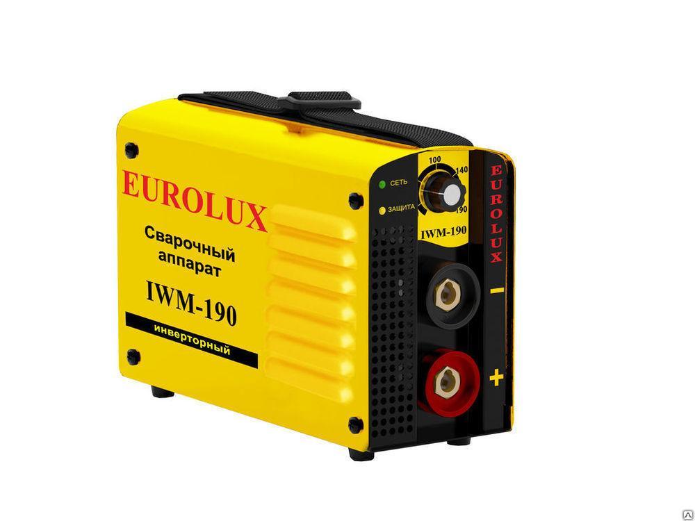 Сварочный инверторный аппарат EUROLUX IWM-190