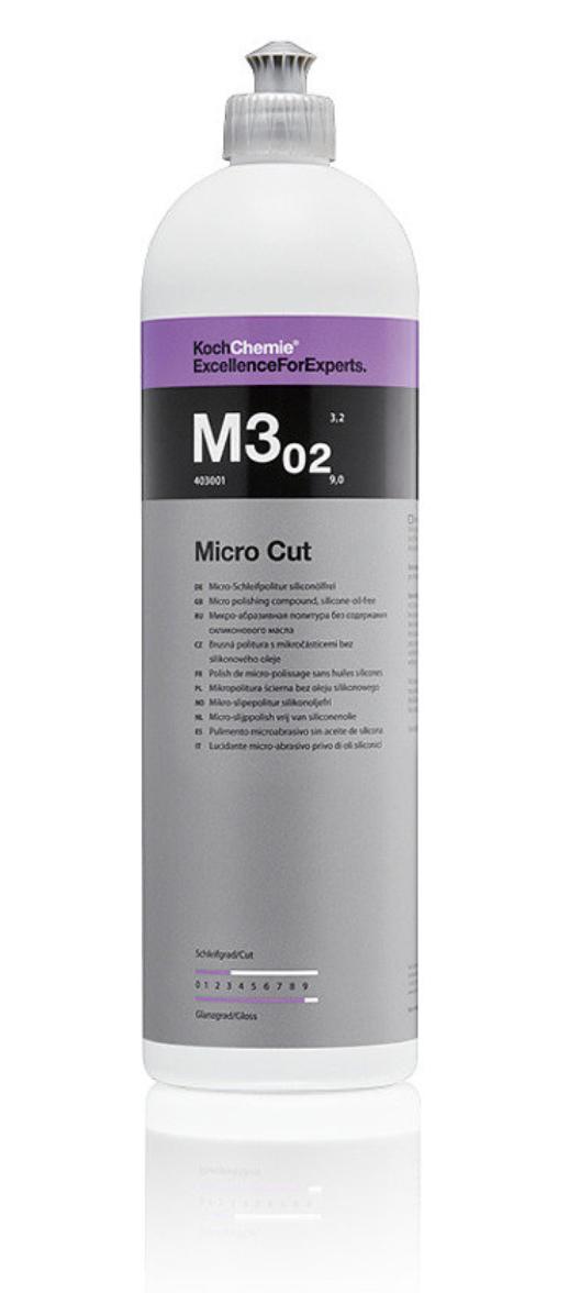 M3 02 Micro Cut микрошлифовальная антиголограмная полировочная паста