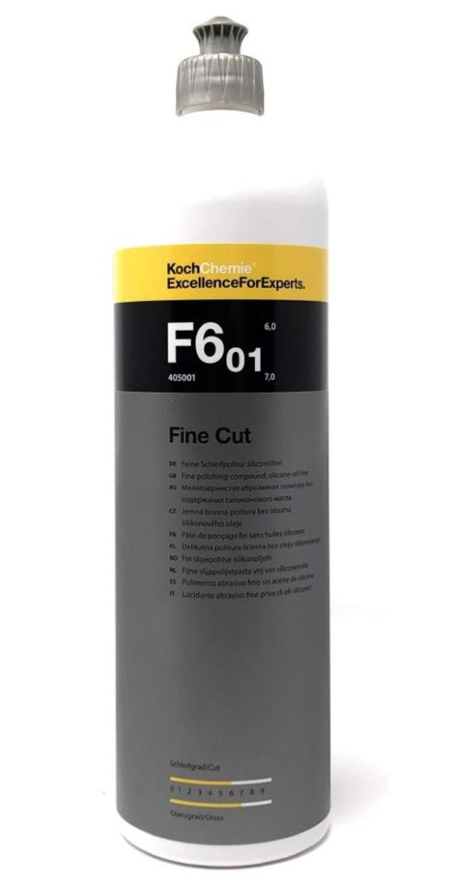 F6 01 Fine Cut мелкозернистая абразивная полировальная паста