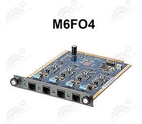 4-портовый модуль M6FO4