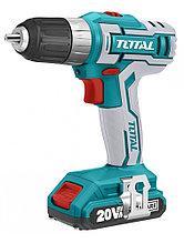 Аккумуляторный шуруповёрт TOTAL TDLI1221