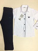 Школа! Комплект рубашка и брюки Armani Junior