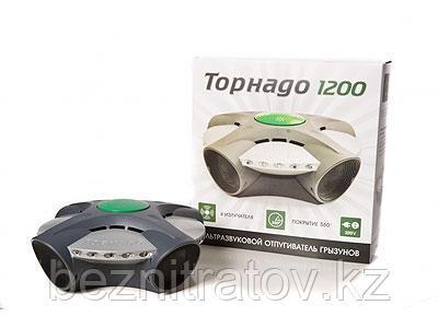 Свето-звуковой отпугиватель крыс и мышей Торнадо 1200 (1200 кв.м)
