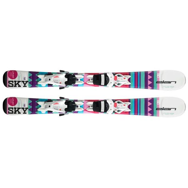 Elan  лыжи горные Sky QT el4.5