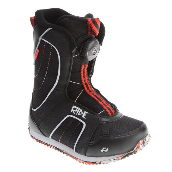 Ride  ботинки сноубордические детские Norris Boys - black- 1.0