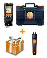 Testo Комплект Testo 320 без H2-компенсации со смарт зондом 510i для пусконаладки и обслуживания котловых установок 0563 3224