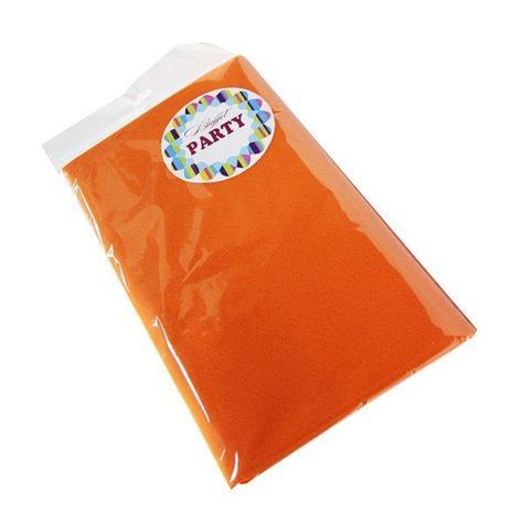 Скатерть 140х200см, оранж., СМС, фото 2