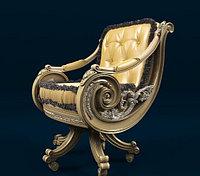 Резное кресло на заказ Алматы, фото 1