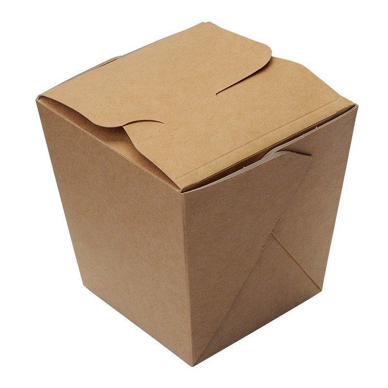 Коробка д/лапши картонная склеенная ECO NOODLES gl 560мл, 95х95х100мм, 360 шт