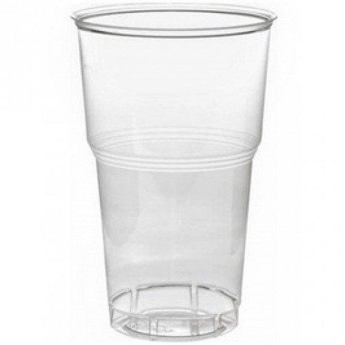 Стакан для холодных напитков, 0.5л, п/прозрачный , 1000 шт