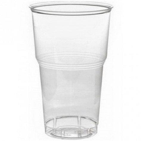 Стакан для холодных напитков, 0.5л, п/прозрачный , 1000 шт, фото 2
