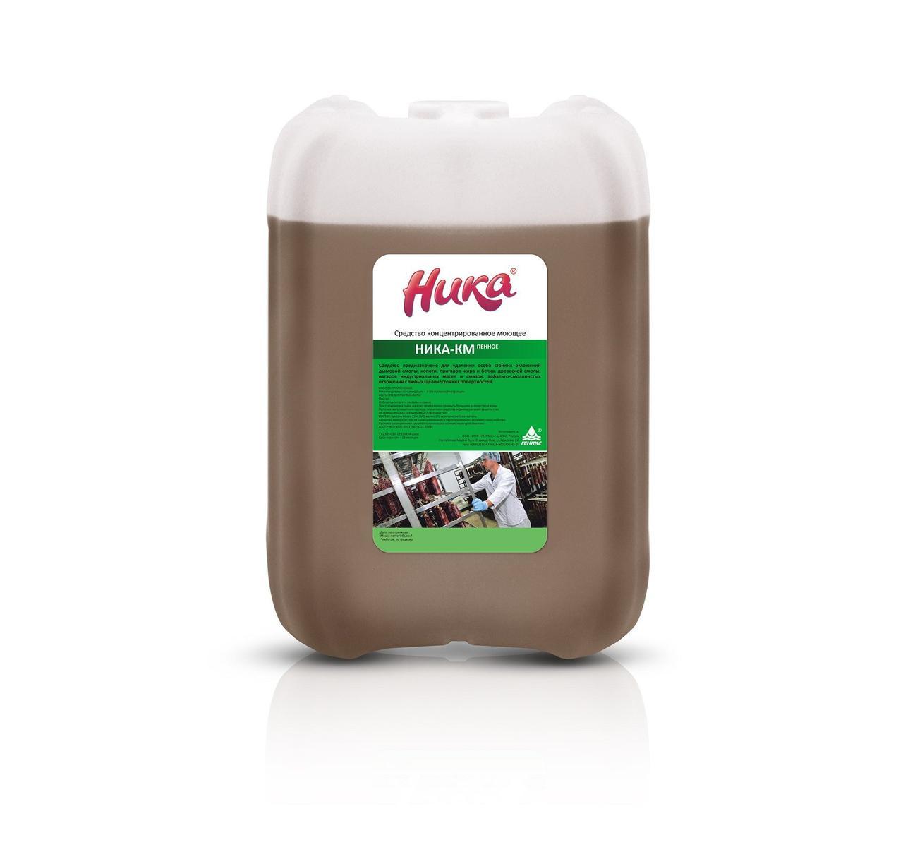 Средство моющее концентрированное «Ника-КМ» (пенное) 6кг