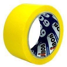 """Клейкая лента 48мм*66м """"UNIBOB 600"""" (желтая), фото 2"""