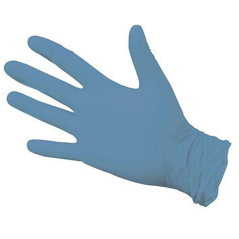 Перчатки нитриловые неопудр. NitriMax р-р L, голубые, 50 шт, фото 2