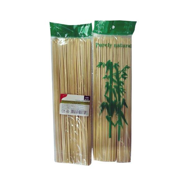 Палочки д/шашлыка, d 3мм, 250мм, бамбук, 100 шт