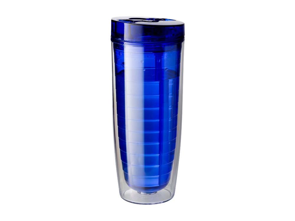 Термостакан Sippe, синий прозрачный - фото 2