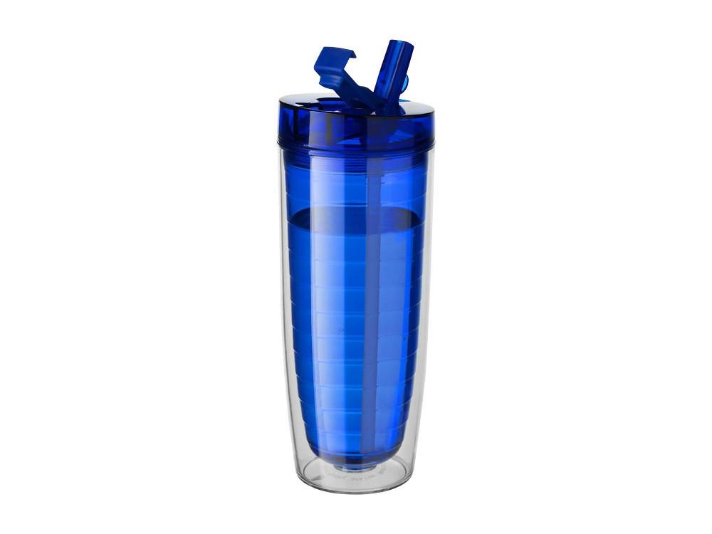 Термостакан Sippe, синий прозрачный - фото 1