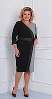 Платье Диамант-1459, черный, 52