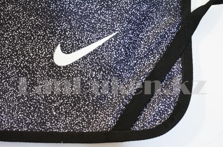 Мешок для обуви тканевый 49х36 чёрный - фото 2