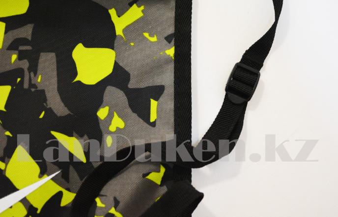 Мешок для обуви тканевый 49х36 милитари - фото 3