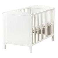 Кроватка детская ХЕНСВИК  белый ИКЕА, IKEA