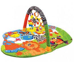 """Умка Коврик детский """"Животные Африки"""", с мягкими игрушками на подвеске"""