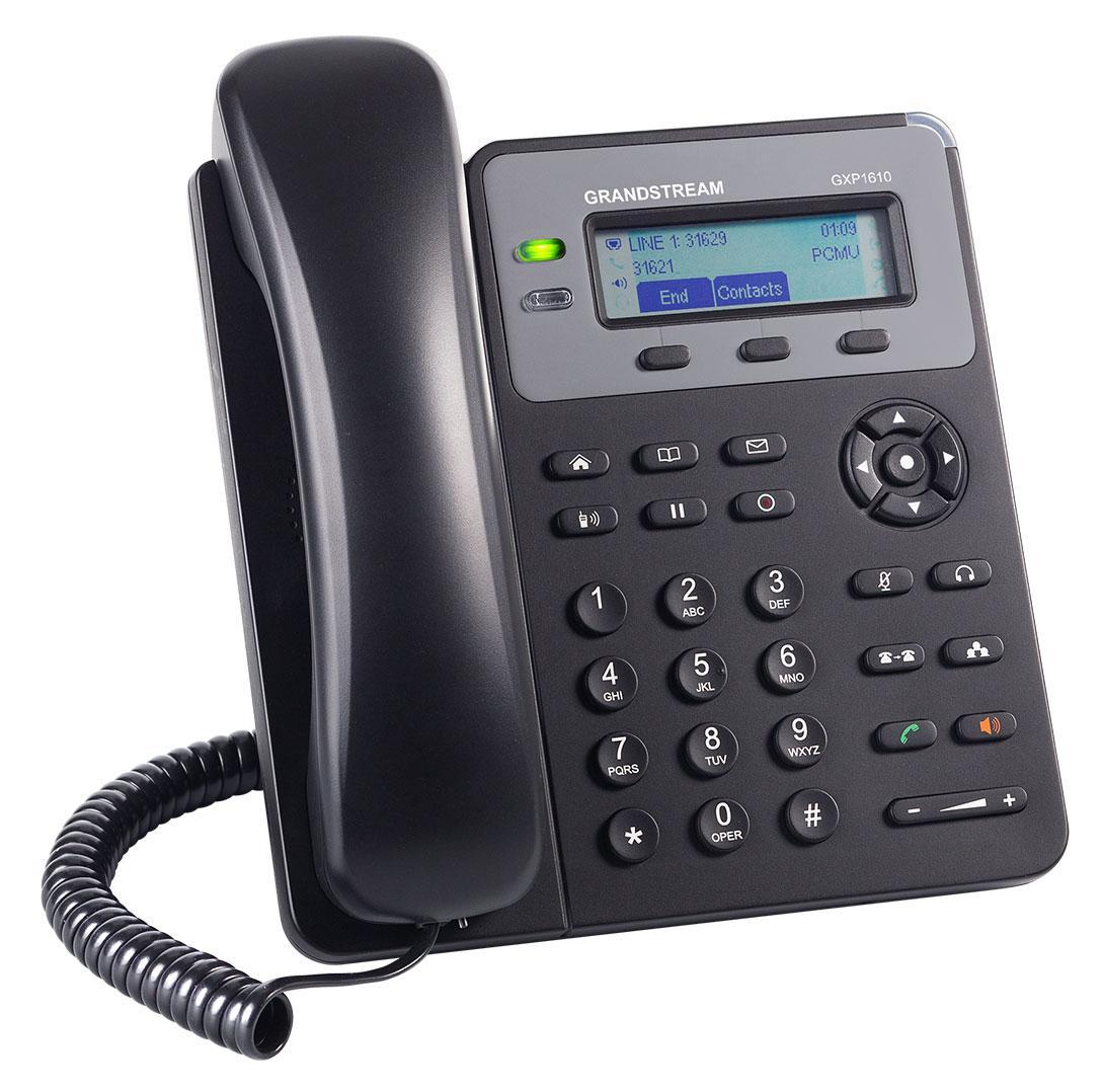 IP телефон Grandstream GXP1610 1 SIP аккаунт - фото 2