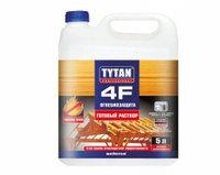 Огнебиозащита, готовый раствор 4F, красный 10 л/ TYTAN