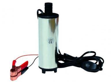 Насос для перекачки диз. топлива 24 V, погружной, лопастной, электрический.