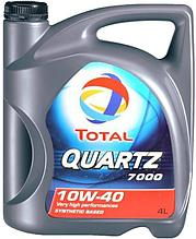Моторное масло TOTAL QUARTZ 7000 10W40 DIESEL 4L