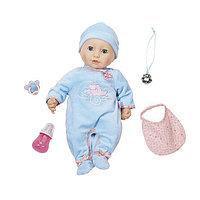 Baby Annabell 794-654 Бэби Аннабель Кукла-мальчик многофункциональная, 46 см
