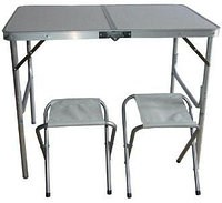 Стол складной с 2 стульями для пикника