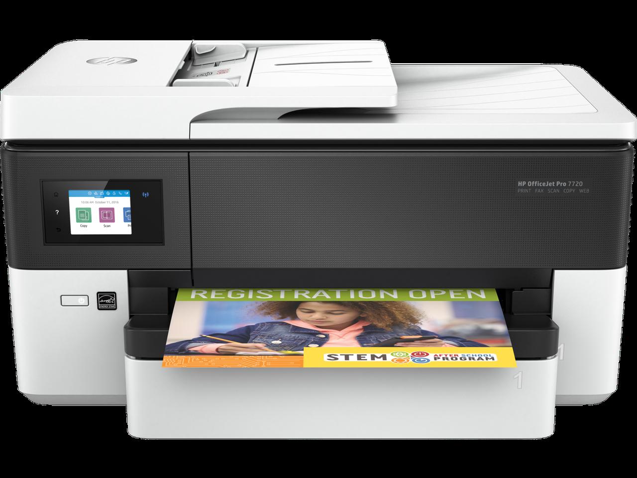 HP Y0S18A МФУ струйное цветное OfficeJet Pro 7720 формат А3
